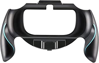 Jullynice — Capa de mão com suporte para joypad confortável antiderrapante para Sony PSv1000 Psvita PS Vita PSV 1000 Gamep...