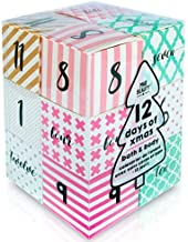 Advent Mad Beauty 12 Days of Xmas Bath & Body Cube Calander - Open a Cube a Day to Indulge in Your Winter Berry Selection!