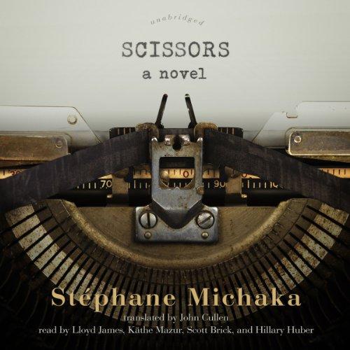 Scissors audiobook cover art