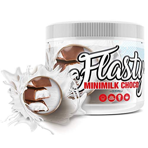 sinob Flasty Geschmackspulver (Minimilk Chocolate) 1 x 250g Kalorienarmes Flavour Pulver mit 'Nur ca. 7 kcal pro Portion' bringt es Leben in deinen Quark, Joghurt und vielem mehr.