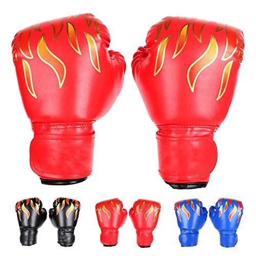 FUMEI Gant de Boxe Enfant 6oz Muay Thai Kickboxing Junior Gant Sparring Trainning Punching Bag...