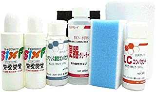 お掃除ソムリエ 水回りガラスコーティングセット (浴槽・洗面・便器・シンク4か所用) シックス・エフ Sixf