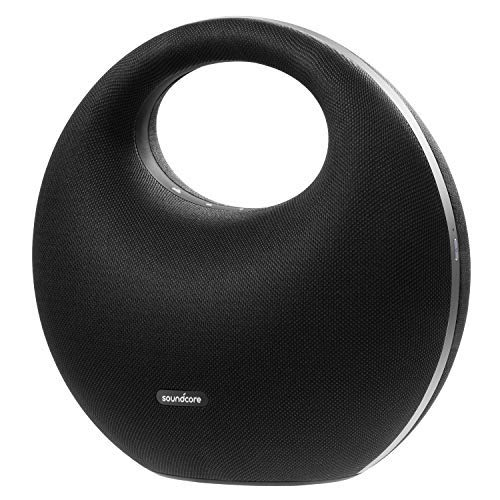 Soundcore Model Zero Bluetooth Speaker by Anker, Wireless Portable Home Speaker with Powerful Hi-Fi Sound, 10-Hour Playtime, IPX5 Water-Resistance, Unique Design, Premium Drivers, and Hi-Res Audio