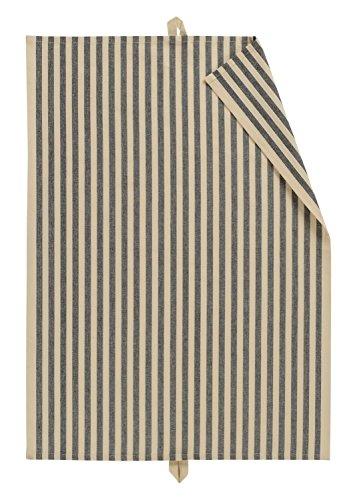 Linum SLUSSEN Geschirrtuch 50x70 Black H-01