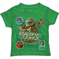 7. Disney Toddler Boy's Good Dinosaur T-rex T-Shirt