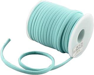 Fugift 20m/rollo de 5 mm suave y diminuto cordón de nailon de hilo elástico para las mujeres pulseras gargantilla collar D...
