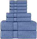 Utopia Towels - Juego de Toallas; 2 Toallas de baño, 2 Toallas de Mano y 4...