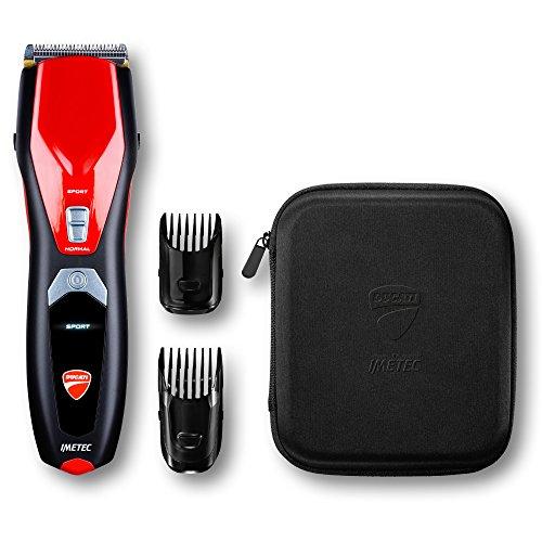 Imetec Ducati - Maquinilla cortapelo profesional HC 919 Podium, cuchillas Acute Angles...