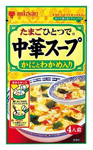 ミツカン 中華スープ かにとわかめ入り 30g×10袋