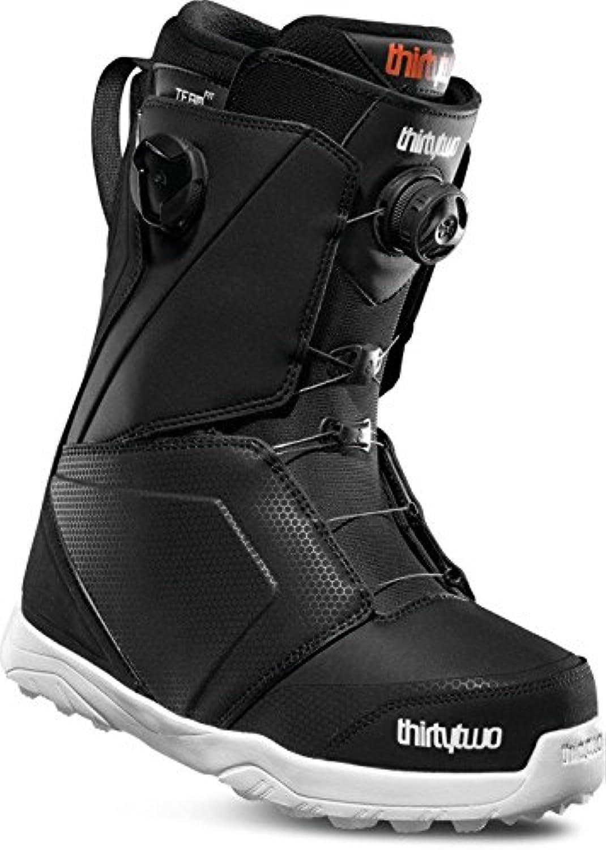 Thirtytwo Lashed Double Boa '18 Snowboard Boots, Size 7.5, Black