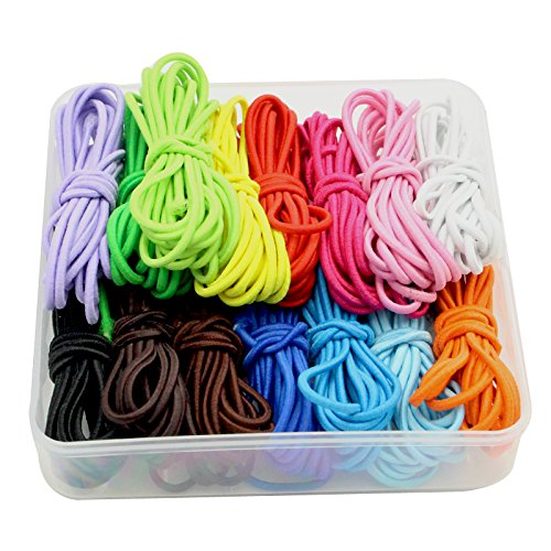 30yards Elastic String 2mm Thickness Rubber Rope Jewelry Cords