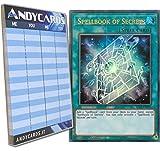 Yu-Gi-Oh! - LIBRO DI MAGIA DEI SEGRETI - Ultra Rara BLLR-EN075 in INGLESE + Segnapunti Andycards
