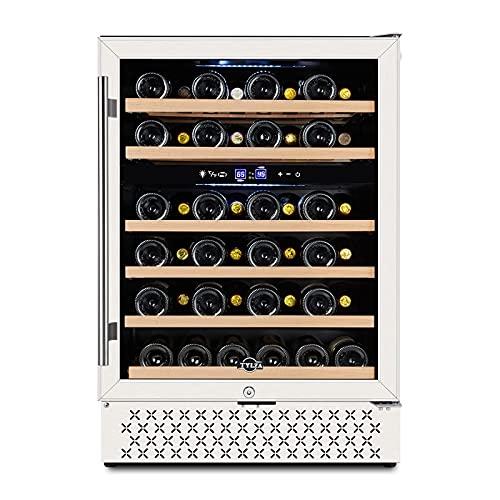 TYLZA 46-Bottle Duall-Zone, Undercounter Wine Cooler (24 Inch)