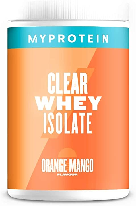 Proteine succo di frutta myprotein clear whey isolate orange mango 522 g MYP9051/100/105