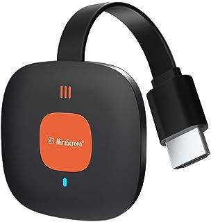 4K ドングルレシーバー ワイヤレス HDMI ミラキャスト 2.4G レシーバー アダプター スマホテレビ、無線HDMIアダプター ワイヤレスドングル Wi-Fi接続 モード切替え不要 遅延なし 音ズレなし MiraCast/AirPlay/...