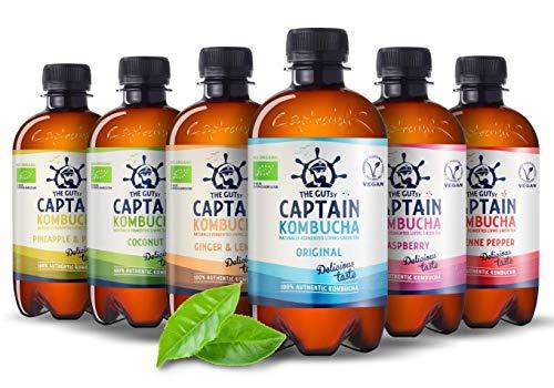 Captain Kombucha – Bebida Probiótica...