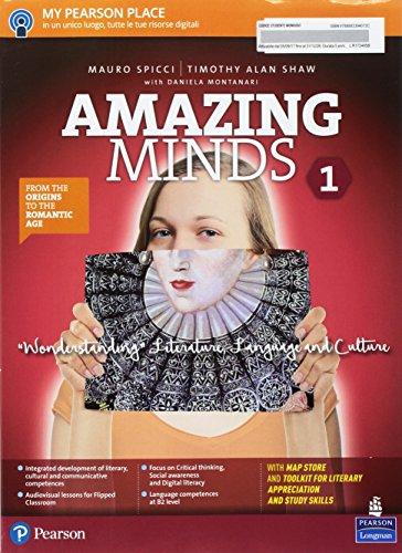 Amazing minds. Wonderstanding. Per le Scuole superiori. Con e-book. Con espansione online [Lingua inglese]: Vol. 1