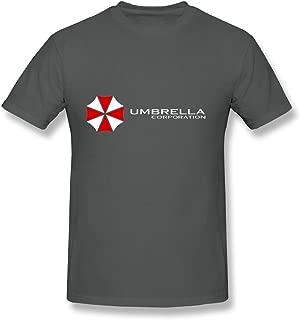 HUBA Men's T Shirt Resident Evil The Umbrella Chronicles Black