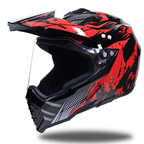OLEEKA Casco integral de la motocicleta, casco unisex para adultos usado para el amante de la vespa, Biking, moto cualquier actividad al aire libre
