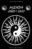agenda zen: agenda 2020 2021 une page par jour