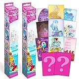 Disney Princess Poster Mystery Set ~ Bundle Includes 4 Disney Princess Posters for Girls Room, Disney Princess Posters for Walls (Disney Wall Decorations for Kids, Boys, Girls)