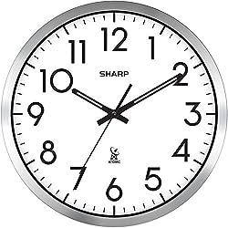Atomic Analog Wall Clock - 14 - Sets Automatically
