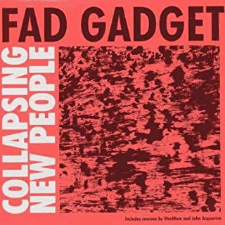 Fad Gadget - Collapsing New People - Mute Tonträger - 12MUTET1