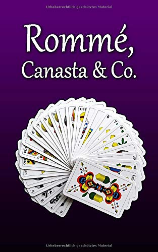 Rommé, Canasta & Co.: Lila-Edition | 120 Seiten | Spielstände von Kartenspielen einfach und übersichtlich | Geschenkidee