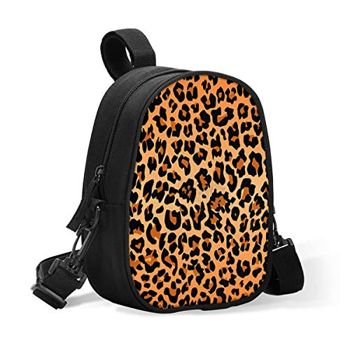 Insulated Baby Bottle Bag Best Leopard Print Multi-Function Breastmilk Cooler Bag & Lunch Bag, Fit As Wine Carrier Or for Milk Bottles, for Nursing Mom Back to Work for 2 Large Bottles