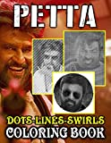 Petta Dots Lines Swirls Coloring Book: Premium Petta Adult Activity Swirls-Dots-Diagonal Books For Men And Women