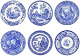 Blue Room Georgian Plates 10.5' Set of 6