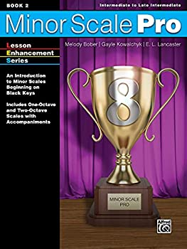 Paperback Minor Scale Pro, Book 2: An Introduction to Minor Scales Beginning on Black Keys Book