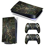 3CTOP High Qulaity Sticker Skin Protector Decals for PS5 Playstation 5 Console and 2 Controllers 2#