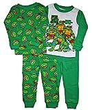 Teenage Mutant Ninja Turtles Little Boy 4PC Long Sleeve Tight Fit Pajama Set 5T