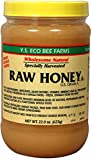YS Royal Jelly/Honey Bee Raw Honey, 22 Oz