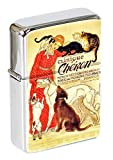 Clinique Che ̀ Ron (The ́ Ophile Steinlen) Mechero con Tapa