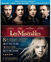 Les Miserables/レ・ミゼラブル Blu-Ray+DVD(R1)[英語のみ] [Import]