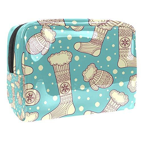 TIZORAX wanten en wollen sokken cosmetische tassen PVC make-up tas reizen toiletten handige tas Organizer voor vrouwen