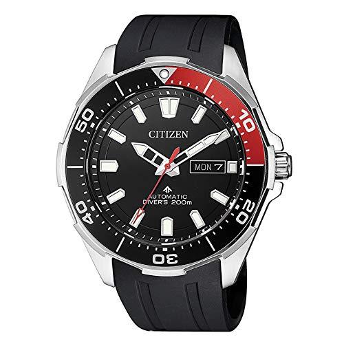 Citizen NY0076-10E Automatik 50th Anniversary Herren-Uhr Titan 20 bar schwarz