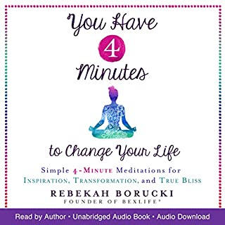 You Have 4 Minutes to Change Your Life audiobook cover art
