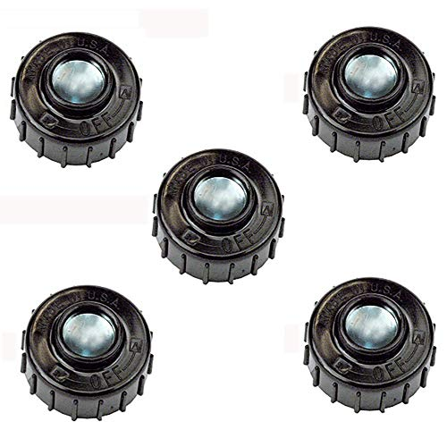 (5) Fits John Deere String Trimmer Replacement Bump Head Knobs Replaces UP04273