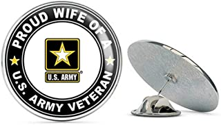 Best army wife pin Reviews