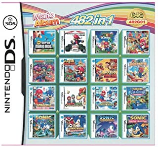 482 In 1 Compilation Video Game Cartridge Card For Nintendo DS 3DS NDSL Super Combo Multi Cart