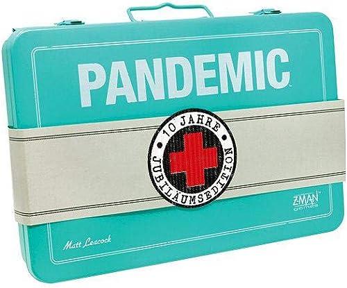Vuelta de 10 dias Asmodee GmbH ZMND0009 Pandemic  10 años años años Edición de Aniversario  comprar ahora