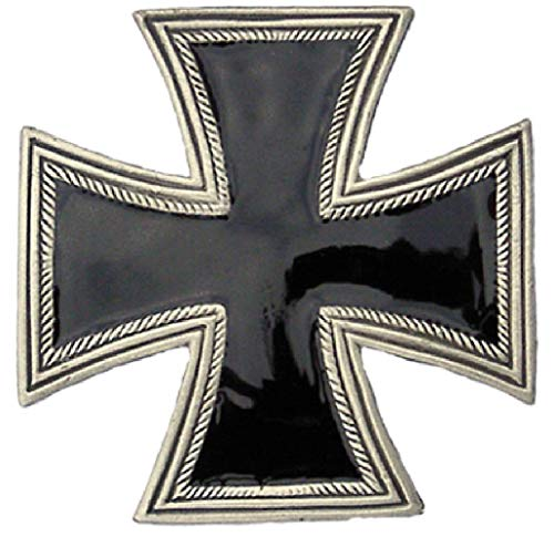 Eiserne Kreuz - Gürtelschnalle/Buckle für Gürtel   Militaria Rocker Biker Ledergürtel