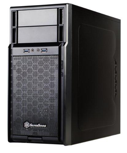 SilverStone Technology PS08B Micro-ATX Computer Case PS08B-x