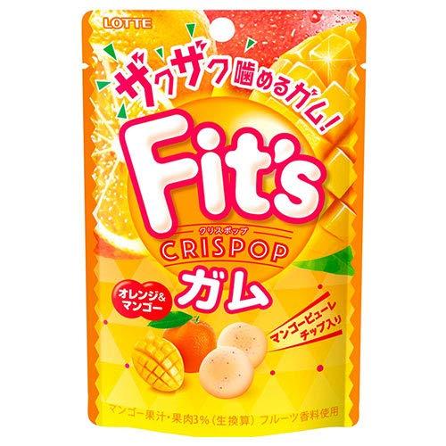 ロッテ Fit's Crispop(クリスポップ) オレンジ&マンゴー 27g×10個入×(2ケース)