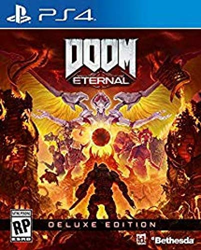 Doom Eternal Deluxe Edition for PlayStation 4 [USA]