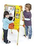 Chicos Artista Pizarra Infantil 2 en 1: Magnética y de Tiza, Incluye 96 Accesorios, a Partir de 3 Años, Color Verde, 62.5 x 60 x 120 cm (52172)