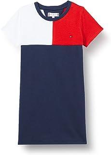 Tommy Hilfiger Stripe Rib Dress S/S Robe Garçon